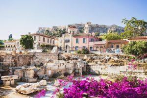 Athene een stad vol geschiedenis