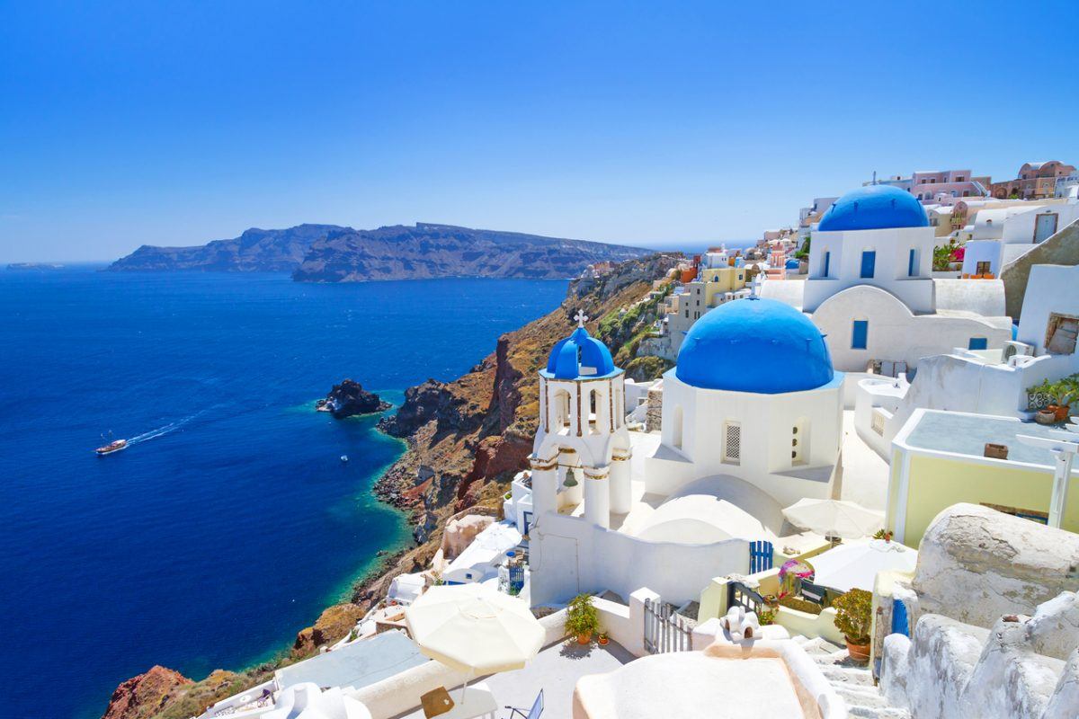 Santorini: klein maar wereldberoemd