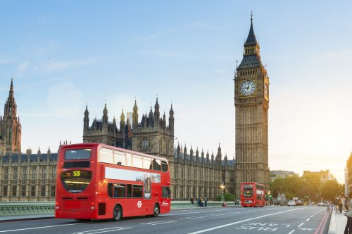 Londen, Europa's lieveling
