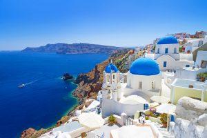Santorini klein maar wereldberoemd