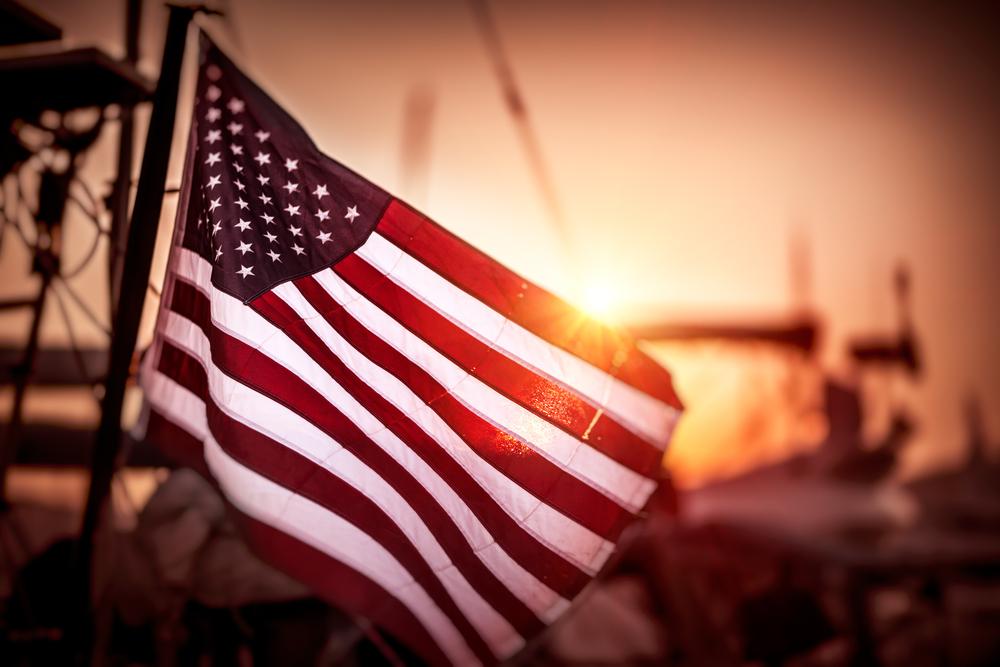 vlag van amerika