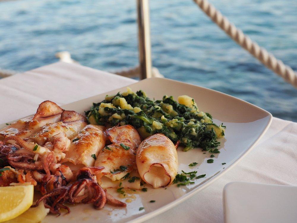 De gevarieerde Kroatische keuken