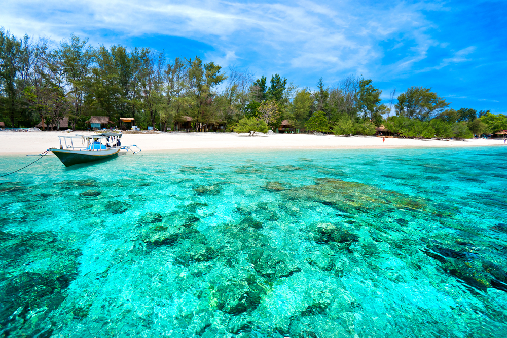 Gili eilanden Indonesië rondreis