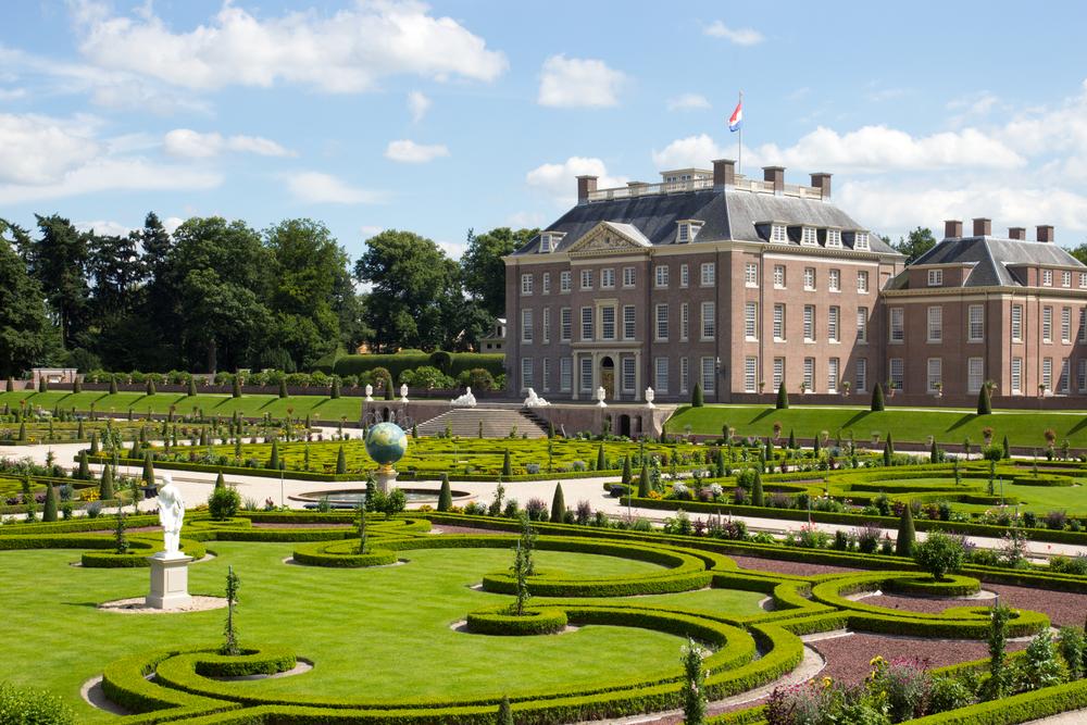 Paleis het Loo en tuin van het Paleis in Apeldoorn