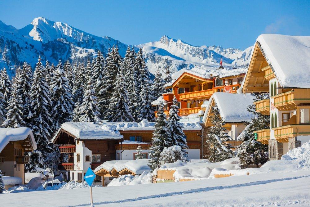 Winterkamperen in Tirol (Oostenrijk)