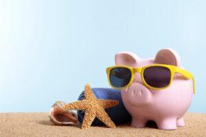 Bespaar op energie, spaar voor je vakantie
